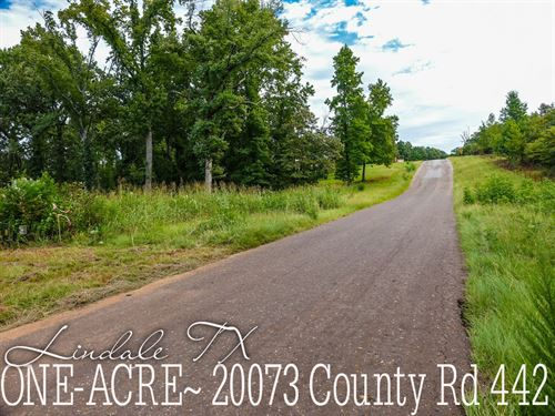 1 Acre In Smith County : Lindale : Smith County : Texas