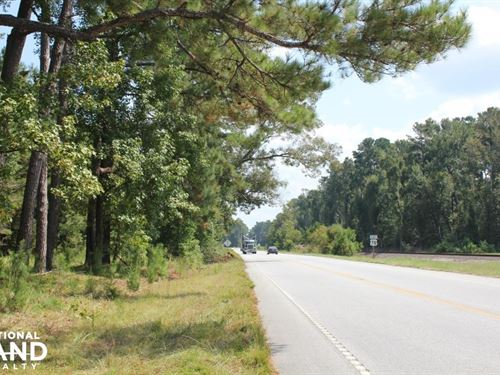 Byrd 18 Acre Homesite : Saint George : Dorchester County : South Carolina
