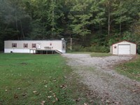 53 Acres Very Private, Hunt & Fish : Bomont : Clay County : West Virginia