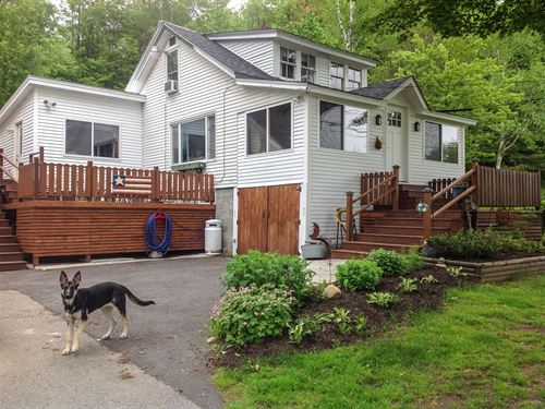 Streamside Home & Acreage : Dixfield : Oxford County : Maine