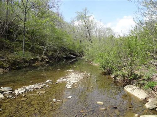 154 Acre Recreational Tract : Prim : Cleburne County : Arkansas