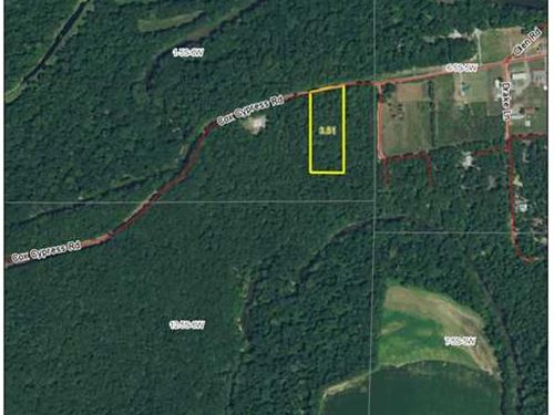 Reduced Price, 3.51 Acre Lot : Lodge Corner : Arkansas County : Arkansas