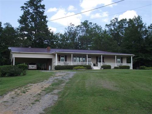 Home With 8 Acres on County Ro : Greensboro : Hale County : Alabama