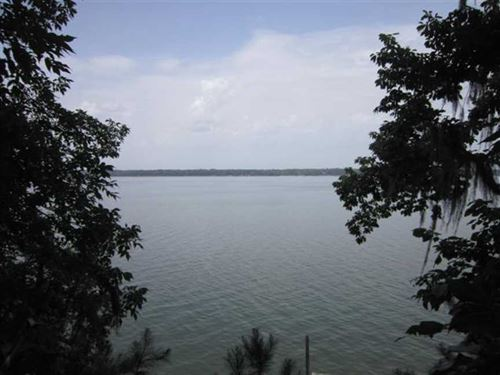 Beautiful Waterfront Lot on Lake : Abbeville : Henry County : Alabama