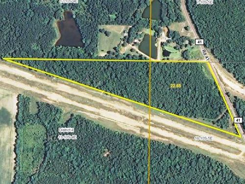 22 Acres CR 41 : Tupelo : Lee County : Mississippi