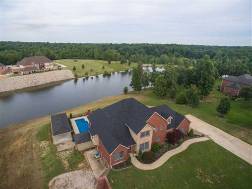 Lake Front Home For Sale on 3.49 : Poplar Bluff : Butler County : Missouri
