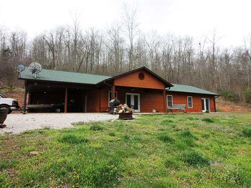 Home on 6 Acres For Sale in Carter : Van Buren : Carter County : Missouri