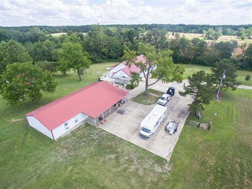 Multi Purpose Mini Farm For Sale : Poplar Bluff : Butler County : Missouri