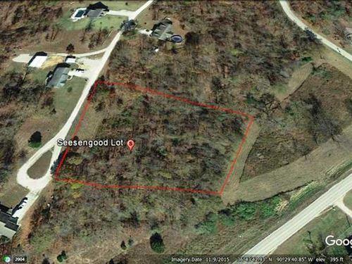 2.83 Acre Lot For Sale in Poplar : Poplar Bluff : Butler County : Missouri