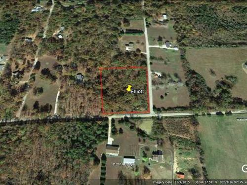2.86 Acre Residential Lot For Sale : Poplar Bluff : Butler County : Missouri