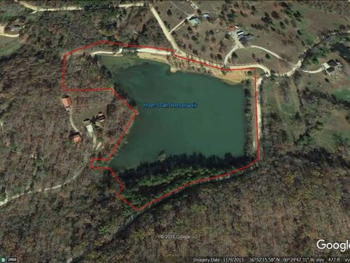 13.5 Acre Lot For Sale in Butler : Poplar Bluff : Butler County : Missouri