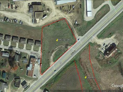 1.2 Acres Commercial Zoned Lot in : Poplar Bluff : Butler County : Missouri
