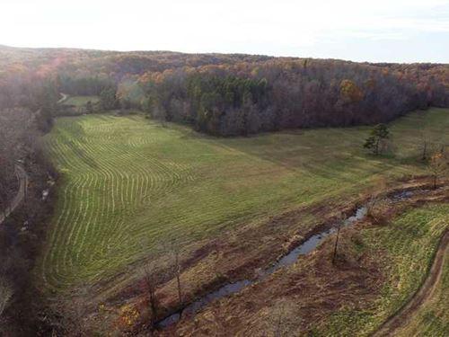 556 Acres For Sale in Wayne County : Cascade : Wayne County : Missouri