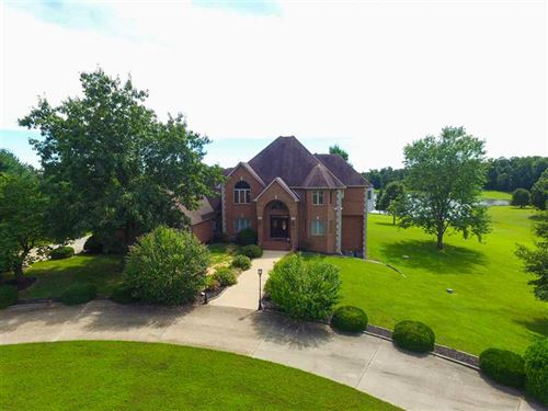Large Custom Lakefront Home For Sa : Poplar Bluff : Butler County : Missouri