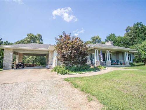 3Br Home And 40 Acres For Sale in : Fairdealing : Ripley County : Missouri