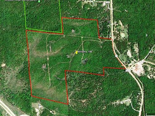 156 Acres M/L For Sale in Carter : Van Buren : Carter County : Missouri