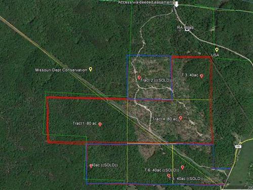 200 Acres For Sale in Reynolds : Piedmont : Reynolds County : Missouri