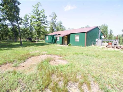 63 Acres With Hunting Cabin For Sa : Van Buren : Carter County : Missouri