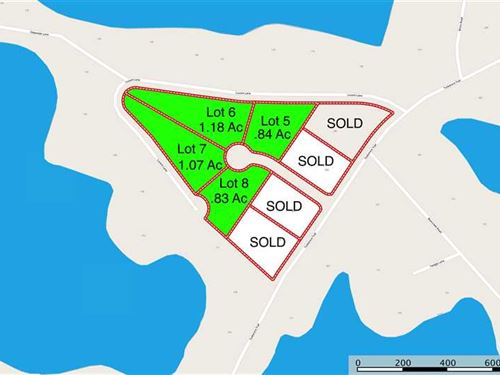 1+ Ac Lot w/ Water View on Lake No : Mooresville : Iredell County : North Carolina