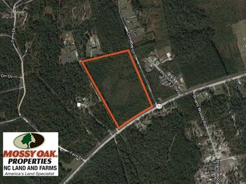 Reduced, 21.56 Acres of Timber an : Maple Hill : Onslow County : North Carolina