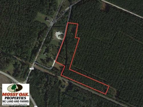 12 Acres of Timber And Residential : Council : Bladen County : North Carolina