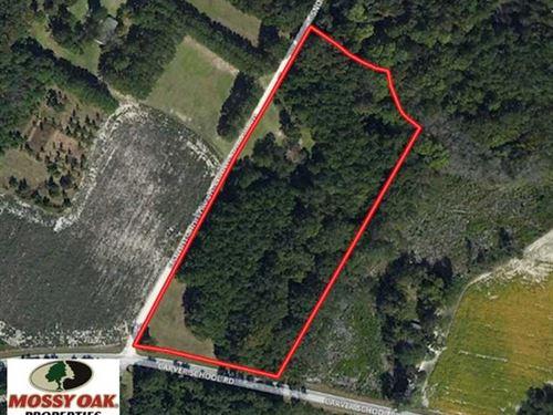 Under Contract, 7 Acres of Reside : Cordova : Orangeburg County : South Carolina