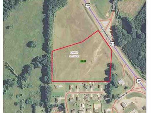10.2 Acres of Commercial Land For : Grenada : Mississippi