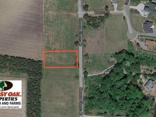 .57 Acre Waterview Lot For Sale : Colerain : Bertie County : North Carolina
