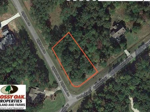 Reduced,.52 Acre Residential Lot : Grantsboro : Pamlico County : North Carolina