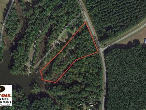 Under Contract, 3.76 Acres of Wat : Belhaven : Beaufort County : North Carolina