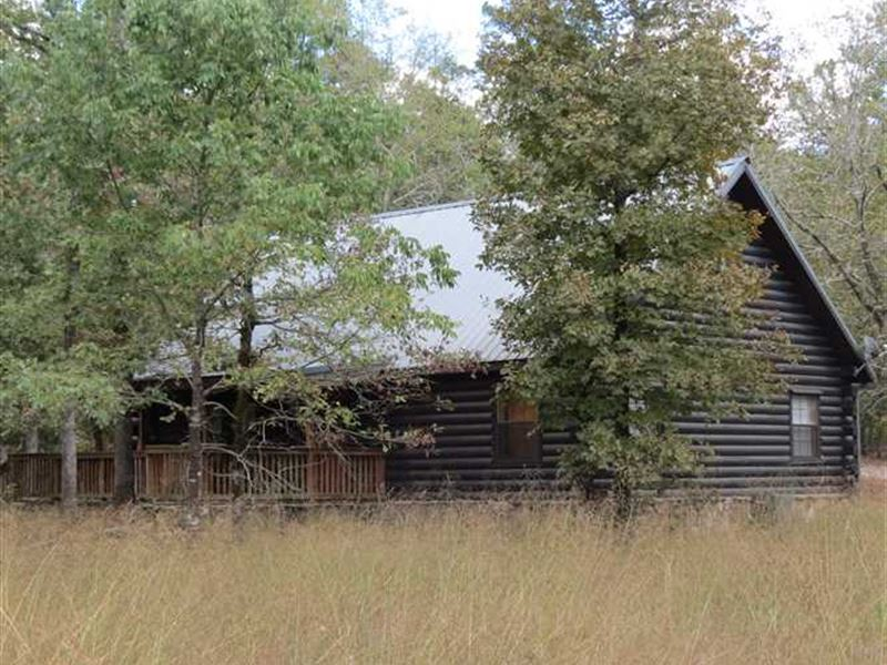 Real Log Cabins X 2 Close To Hocha Land For Sale Broken