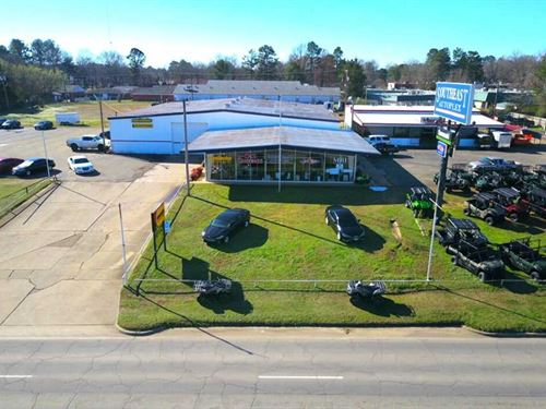 Commercial Dealership Opportunity : Idabel : McCurtain County : Oklahoma