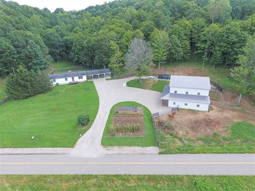 Cora Mill Rd - 37 Acres - Gallia : Gallipolis : Gallia County : Ohio