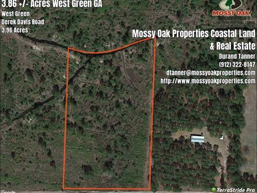 4 Acres Near West Green GA in : West Green : Coffee County : Georgia