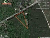 1.39 Acre Homesite in Camden : White Oak : Camden County : Georgia
