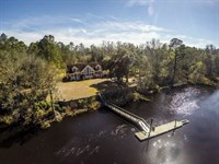 Waterfront Home For Sale in Camden : Woodbine : Camden County : Georgia