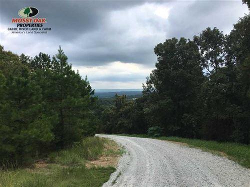 Price Drop, Mountain Top Property : Searcy : White County : Arkansas