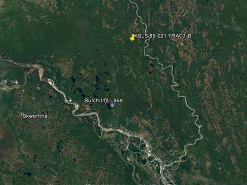 40 Acres of Raw Land With Water Ac : Remote : Matanuska-Susitna Borough : Alaska