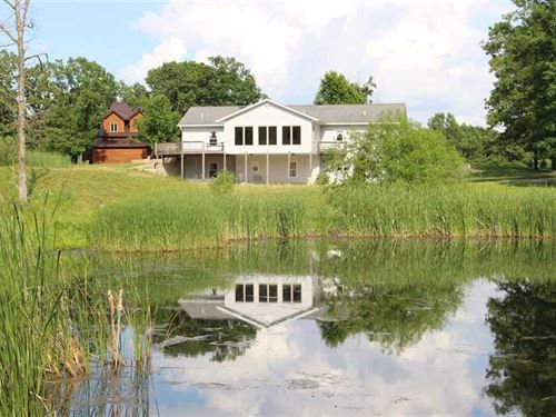 5000 Square Foot, 5 Bedroom Countr : Stover : Morgan County : Missouri