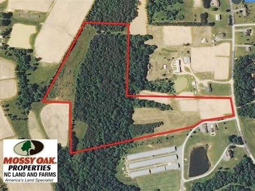 30.30 Acres of Farm Land For Sale : Burlington : Alamance County : North Carolina