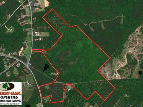 Reduced, 87 Acres of Development : Sanford : Lee County : North Carolina