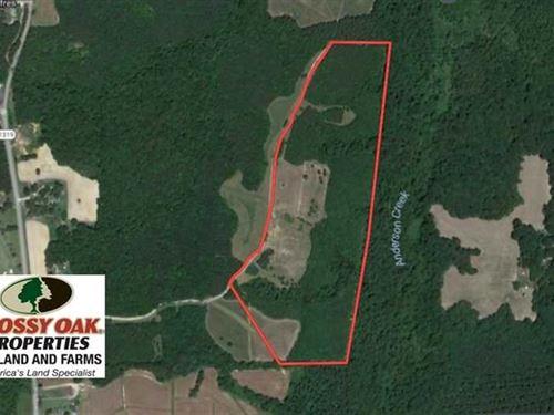 47.06 Acres of Hunting Land For Sa : Henderson : Vance County : North Carolina