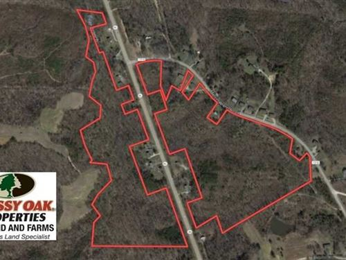 58.57 Acres of Hunting And Develop : Yanceyville : Caswell County : North Carolina