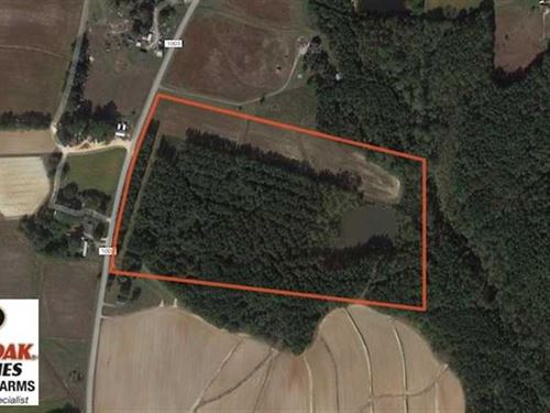 25.83 Acres of Farm And Timber Lan : Henderson : Franklin County : North Carolina