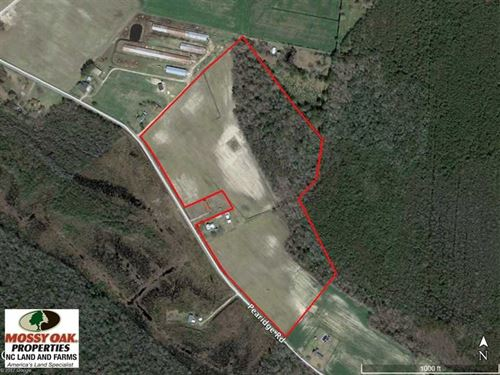 Reduced, 36 Ac Farm With Historic : Roper : Washington County : North Carolina