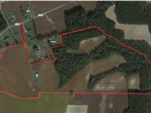 Under Contract, 53.5 Acres of Far : Fremont : Wayne County : North Carolina
