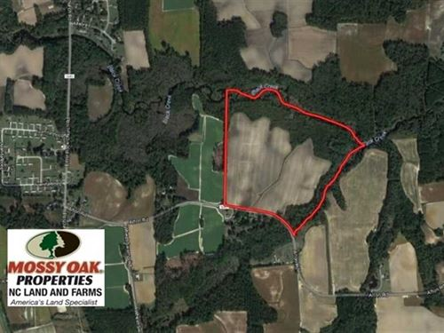 Reduced, 65.57 Acres of Farm And : Lucama : Wilson County : North Carolina
