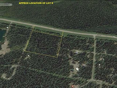10 Acres Denali Park Area : Cantwell : Denali Borough : Alaska