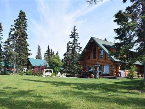 Bear Necessities B&B Cabins Oceanf : Kenai : Kenai Peninsula Borough : Alaska