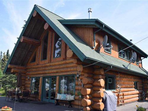 Oceanview & Immaculate Constructio : Kenai : Kenai Peninsula Borough : Alaska